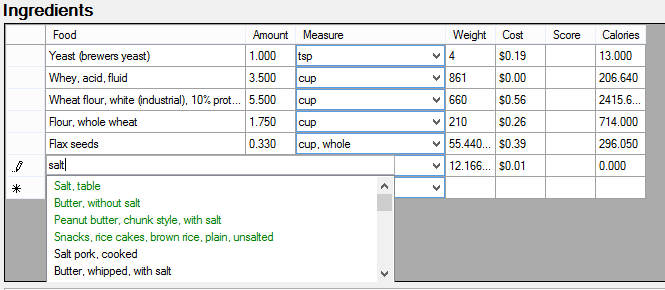 programming the food cost calculator  u2013 assistant to the
